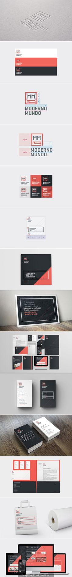 Moderno Mundo - Branding & RWD... - a grouped images picture - Pin Them All