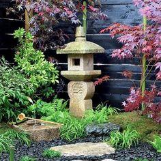 Zen Gardens, Japanese Gardens, Stone Lantern, Reproduction, La Nature,  Garden Paths, Yard Art, Catherine Ou0027hara, Garden Ideas