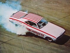 photos of ramchargers drag car Funny Car Drag Racing, Funny Cars, Auto Racing, Dodge Challenger Models, Old Race Cars, Pony Car, Drag Cars, Ford Motor Company, Vintage Racing