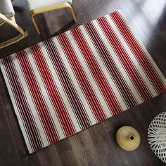 Designed with a pattern of stripes in varying widths over a natural background, this patterned rug is crafted from wool and is available in a choice of colours and sizes. Natural Background, Wool Rug, Stripes, Colours, Rugs, Pattern, Crafts, Dining Room, Lounge