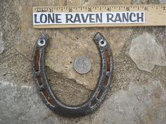 Free Ship Old Lucky Real Horseshoe Ready2Hang Texas Ranch Cowgirl Cowboy NWT 45