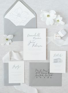 Amazing Elegant wedding ceremony inspiration from the south of Nuetral Informations About Elegant Southern Nu. Grey Wedding Invitations, Printable Wedding Invitations, Elegant Wedding Invitations, Wedding Stationary, Invites, Save The Date Wedding, Our Wedding, Spring Wedding, Rustic Wedding