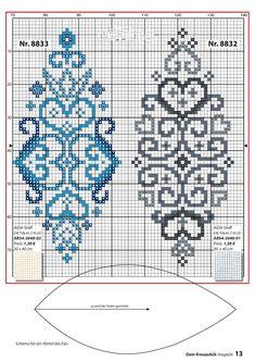 ru / Фото # 13 - Your cross stitch magazine 2017 - Chispitas Celtic Cross Stitch, Cross Stitch Borders, Cross Stitch Designs, Cross Stitching, Cross Stitch Embroidery, Hand Embroidery, Beading Patterns, Embroidery Patterns, Cross Stitch Patterns