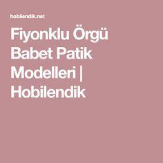 Fiyonklu Örgü Babet Patik Modelleri   Hobilendik