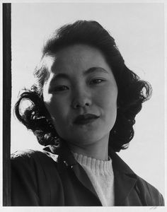 "Manzanar: This one is labeled only in the collection as ""Mrs. Kay Kageyama."""