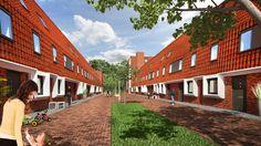 Een voorbeeld van autovrije straat waarvan wij royal gebruik in onze wijk willen maken. (Rasto)  Bron: http://leygraafmakelaars.nl/aanbod/5505/huygensstraat-6.html, geraadpleegd op 22 januari 2014