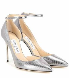 d5df9d5dcf70 Lucy 100 metallic snakeskin pumps