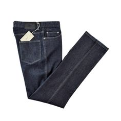 Keep it dark, in these Brioni Stelvio bespoke stretch cotton denim jeans!  |  Go Shopping! http://www.frieschskys.com/shop-brioni  |  #frieschskys #mensfashion #fashion #mensstyle #style #moda #menswear #dapper #stylish #MadeInItaly #Italy #couture #highfashion #designer #shopping