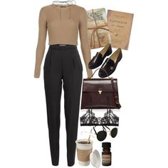 A fashion look from September 2016 by nikka-phillips featuring Topshop, Vionnet, Hanky Panky, Chanel, Marni, Lilou, Ray-Ban, GO Home Ltd. and Lab