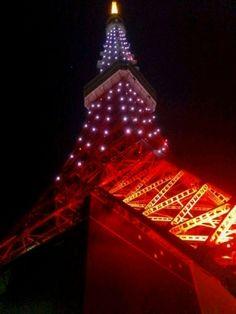 Tokyo Tower-pink diamond veil