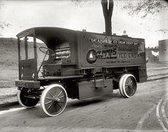 Carry's ice cream truck 1920