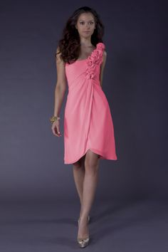 I like this for bridesmaid dress.
