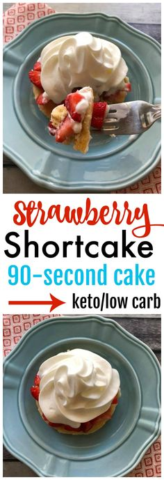 Keto Strawberry Shortcake