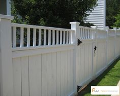 A collection of traditional privacy fence styles & designs.