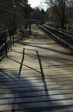 Outdoor Furniture, Outdoor Decor, Railroad Tracks, Fine Art, Landscape, World, Painting, Inspiration, Design