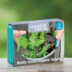 Really Good Organic Salad Seed Collection