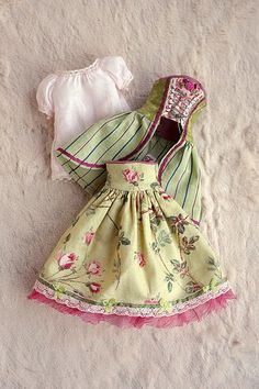 :: Crafty :: Doll :: Clothes ::  Dress Set ≈ Amandine Francesca ≈