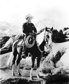 Gene Autry And His Horse, Champion, Performed At The Omaha Civic Auditorium In The 1950s