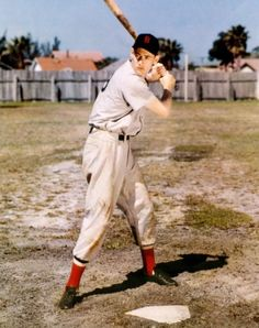 Red Sox great Ted Williams