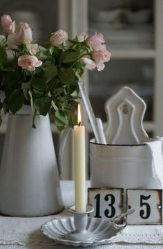 Enamelware for the table