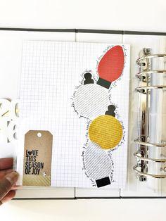 Rainbow Scrapbooks: December Daily | Handmade Holidays Day 1