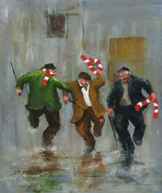 Closing Time Match Day by Des Brophy