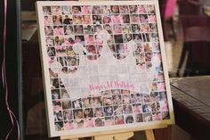 Photo Collage from a Pink & Gold Princess Party via Kara's Party Ideas | KarasPartyIdeas.com | The Place for All Things Party! (3)