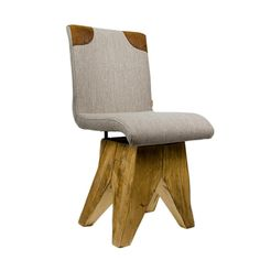 Leather Paneling Solid Wood Stool