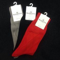 We have some great @bugatchi_ socks in an assortment of colors!  (at By Request for MEN )