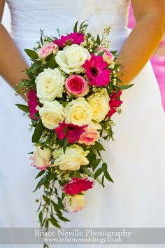 Flowers on a wedding day
