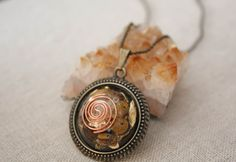 Grounding by ElementsOfLifeStore on Etsy Creating Positive Energy, Solar Plexus Chakra, Reiki Energy, Ball Chain, Plexus Products, Antique Gold, Tigers, The Fosters, Crystals
