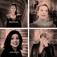 A queen is never late...apparently Regina is having a hard time learning that...#OnceUponaTime