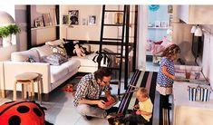 Leven in kleine ruimtes voor het hele gezin