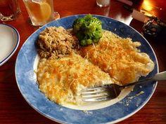 Parmesan Crusted Tilapia :)