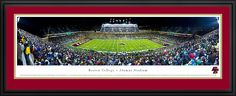 Boston College Panoramic - Eagles Football Panorama $199.95