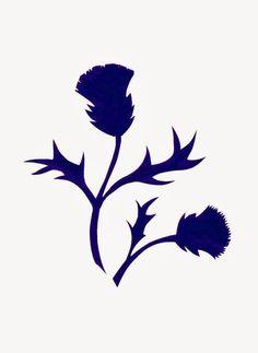 Thistle silhouette by Sue Small -- Foxes Ridge Folk Arts. Scotland Tattoo, Scottish Thistle Tattoo, Wood Burning Patterns, Celtic Designs, Pyrography, Paper Cutting, Folk Art, Stencils, Templates
