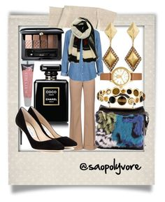 Tuesday (13/9/2016) by saopolyvore on Polyvore featuring ファッション, Topshop, Nina Ricci, Jimmy Choo, 3.1 Phillip Lim, Ippolita, Erickson Beamon, Tory Burch, Givenchy and Guerlain