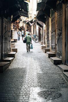 The Medina in Fez, Morocco via Artful Desperado