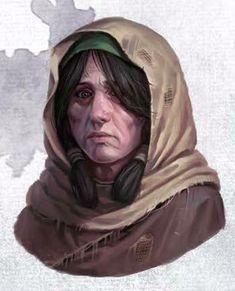 Curse of Strahd - Mary Fantasy Warrior, Fantasy Rpg, Medieval Fantasy, Dnd Characters, Fantasy Characters, Female Characters, Fantasy Portraits, Character Portraits, Fantasy Inspiration