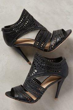 Aerin Lia Heels Black Heels #anthrofave
