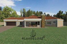 5 Bedroom Single Story House floor Plan Design_Plandeluxe__1 story house design_13