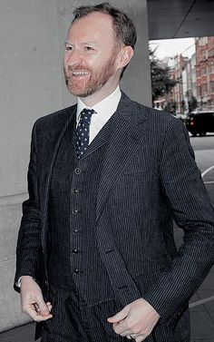 """Dapper Mark Gatiss, or as the fabulous @orishagirl christened him, """"King Ginger Delicious"""". I think that says it all. Long live the king!"""