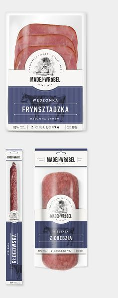 meat Madej & Wróbel  - package design