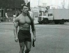 Arnold  Schwarzenegger I think this is Arnold in the Movie Hercules in New York  http://www.steroidreviewer.com