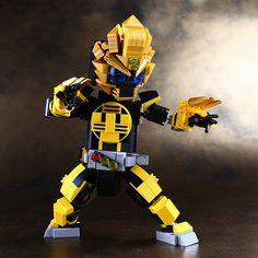 Kamen Rider OOO-Latorartar Combo | by LEGO DOU Moko