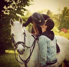 Kiss from stables