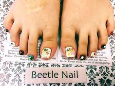 Nail Art - Beetle Nail : 八日市arte|Jrネイリスト   #ネイル #アルテビートルネイル #ビートルネイル #ネイル東近江市