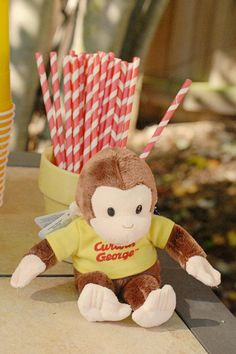 Curious George Toddler Birthday Party