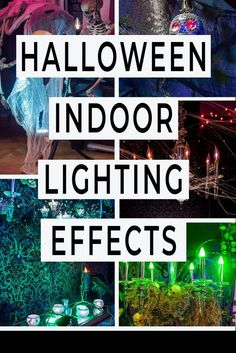 Indoor Halloween Lighting Effects and Ideas That Will Make Your House Look Spooky - Entertaining Diva @ From House To Home