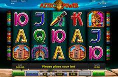 """Lerne mehr über die Azteken Macht? Probiere doch """"Aztec Power"""" Spielautomat von Novomatic für Spielgeld! Der Video Spielautomat von Novomatic """"Aztec Power"""" hat für dich schon viele nette Überraschungen vorbereitet! Es ist deine Chance! Spiele kostenlos!"""